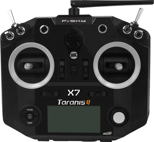 Taranis Q X7 Black Transmitter Only