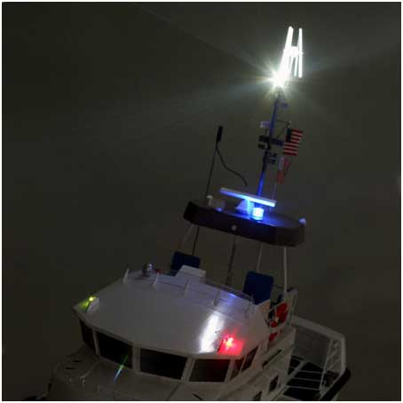 PRB3500 Coast Guard Lifeboat RTR By PRO BOATS Great Hobbies