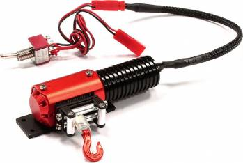 TGHCX1005 5kg Winch With Switch Red By TEAM GREAT HOBBIES Great Hobbies