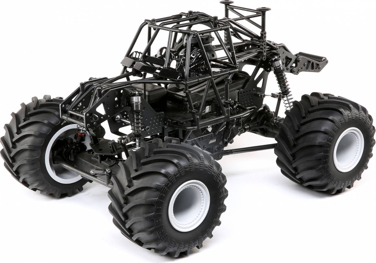 Tml04022 Lmt 4wd Solid Axle Monster Truck Roller By Team Losi Great Hobbies