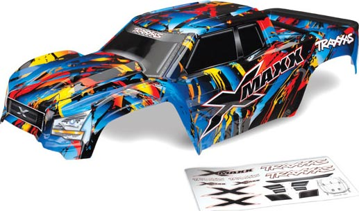 TRAXXAS Body ProGraphix w// decal sheet TRX5611X E-Revo