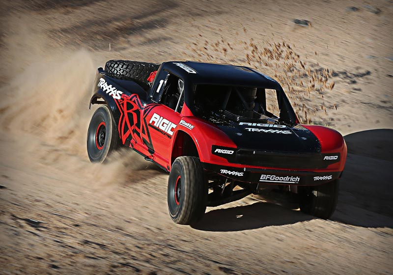 Unlimited Desert Racer (UDR) 4WD Electric Race Truck - Rigid