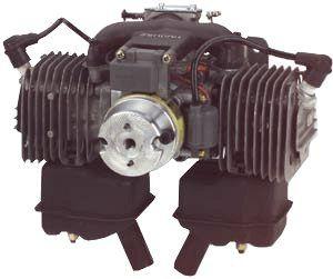 Zenoah GT-80 Twin Engine 80cc