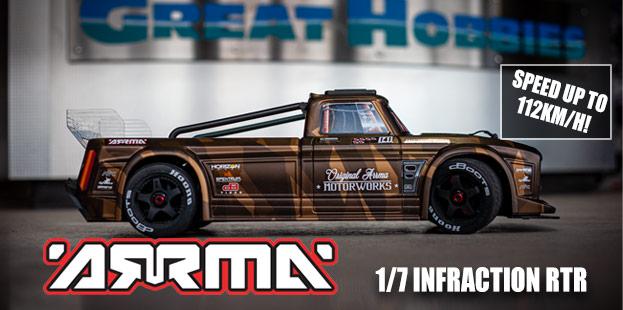 Great Hobbies R/C Car & Truck Department